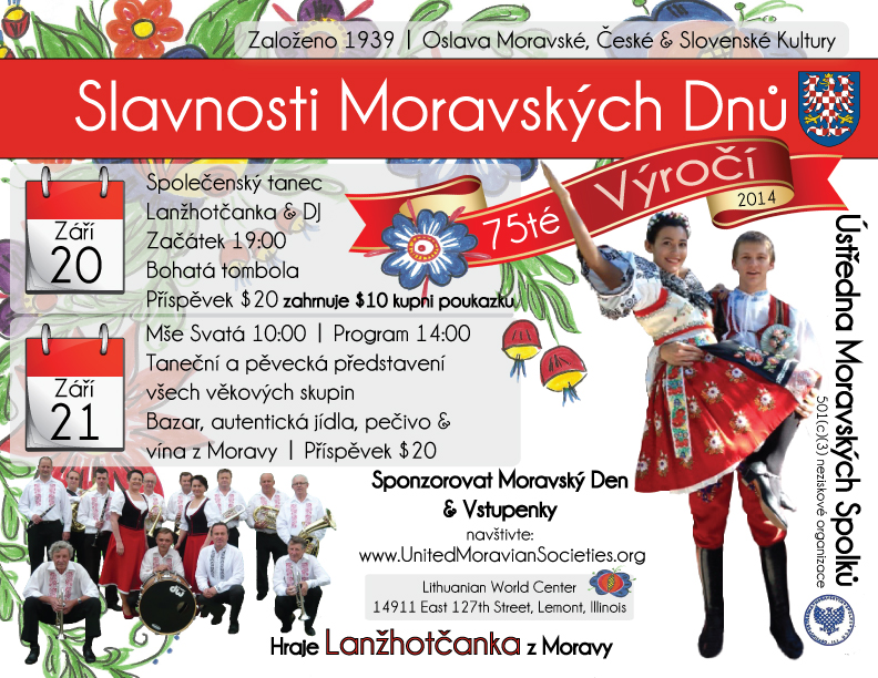 75th Moravian Day Czech